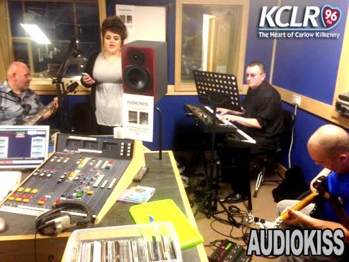 AUDIOKISS in studio sept 2014