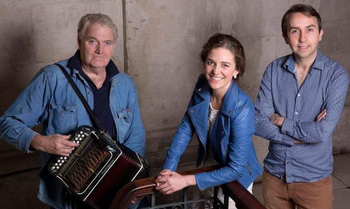 Oisin Mac Diarmada, Samantha Harvey and Seamus Begley, photographed at City Hall, Dublin on Thursday, 28 January 2016.Photography by Brendan Duffy.