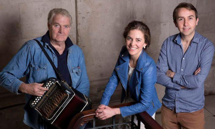 Oisin Mac Diarmada, Samantha Harvey and Seamus Begley, photographed at City Hall, Dublin on Thursday, 28 January 2016.Photography by Brendan Duffy.